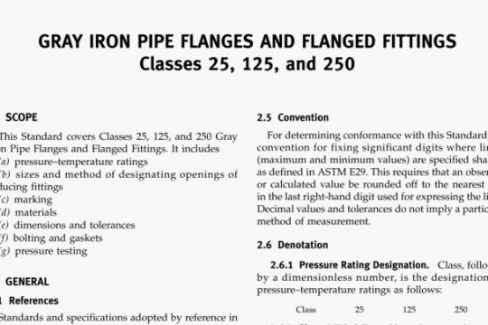 ASME B16.1-2015 pdf free
