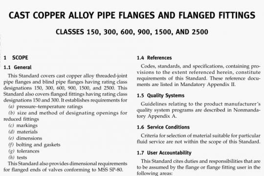 ASME B16.24-2006 pdf free