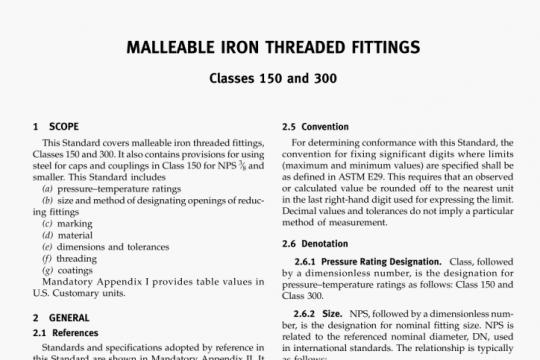 ASME B16.3-2016 pdf free