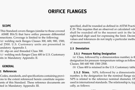 ASME B16-36-2009 pdf free