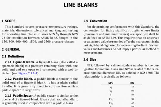 ASME B16.48-2020 pdf free