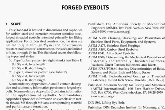ASME B18.15-2015 pdf free