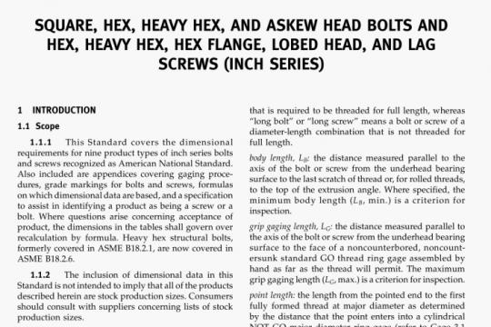 ASME B18.2.1-2010 pdf free
