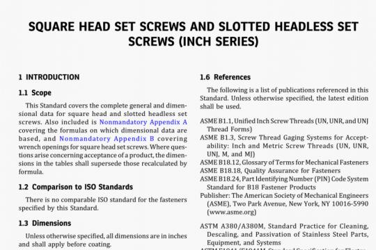 ASME B18.6.2-2020 pdf free