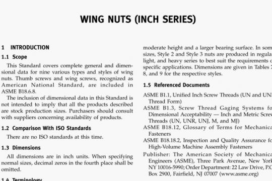 ASME B18-6-9-2010 pdf free
