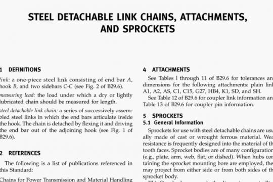 ASME B29.300-2015 pdf free