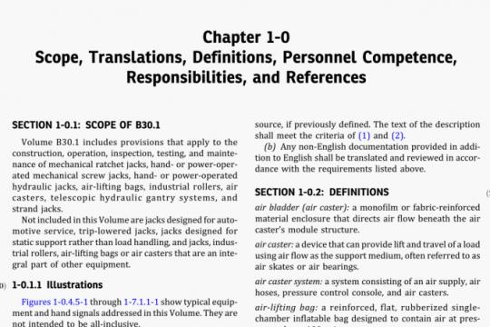 ASME B30.1-2020 pdf free