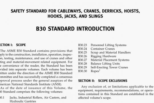 ASME B30.24-2013 pdf free