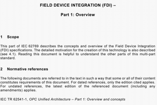 IEC 62769-1-2021 pdf free
