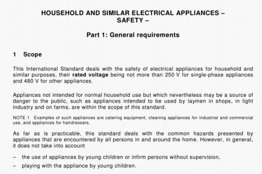 IEC 60335-1-2001 pdf free