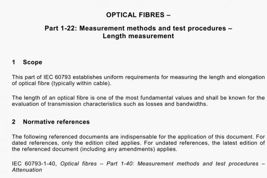 IEC 60793-1-22-2001 pdf download