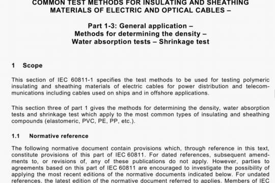 IEC 60811-1-3-2001 pdf free download
