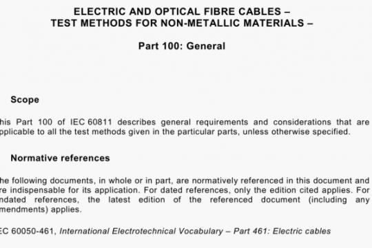 IEC 60811-100-2012 pdf free