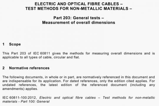 IEC 60811-203-2012 pdf free