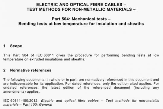 IEC 60811-504-2012 pdf free download