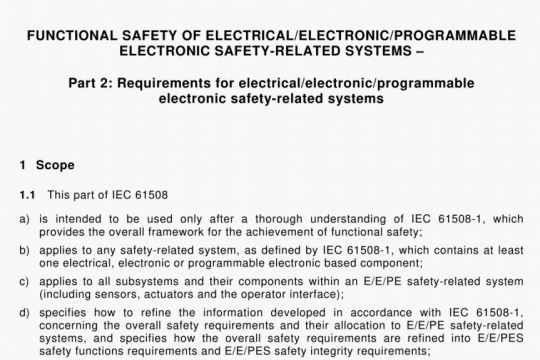 IEC 61508-2-2000 pdf free
