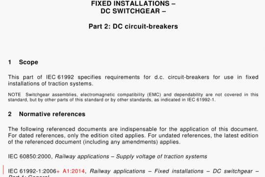 IEC 61992-2-2014 pdf free download
