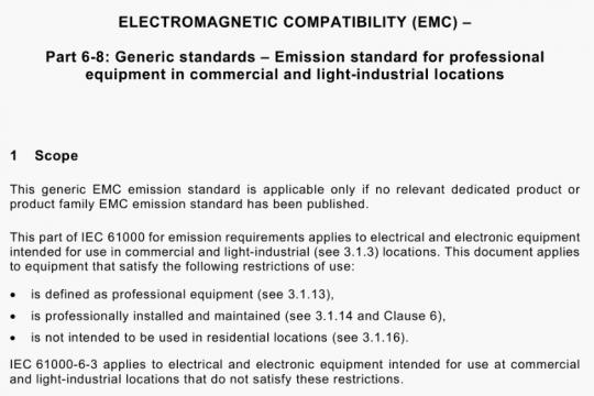 IEC 61000-6-8-2020 pdf free