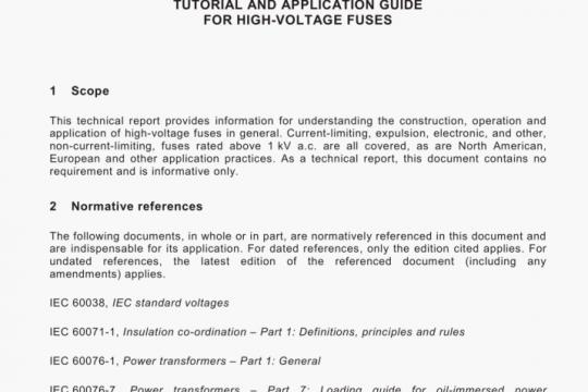 PD IEC/TR 62655:2013 pdf free